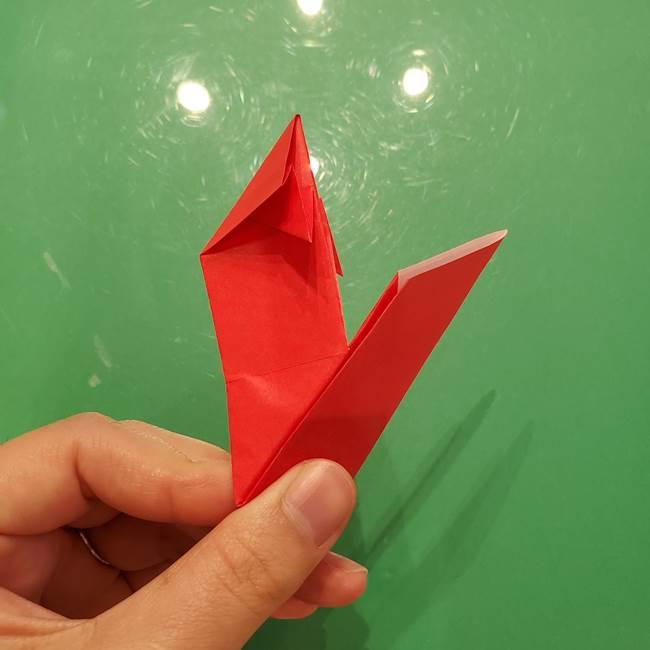 折り紙リスの折り図★立体で難しい折り方作り方①前半(26)