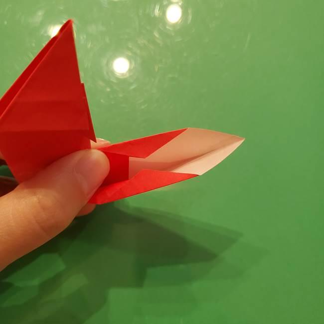 折り紙リスの折り図★立体で難しい折り方作り方①前半(32)