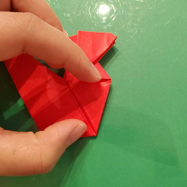 折り紙リスの折り図★立体で難しい折り方作り方②後半(12)