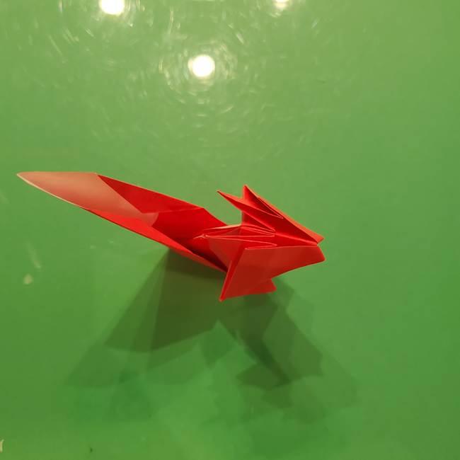 折り紙リスの折り図★立体で難しい折り方作り方②後半(16)