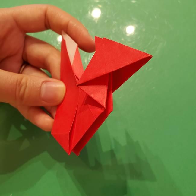 折り紙リスの折り図★立体で難しい折り方作り方②後半(7)