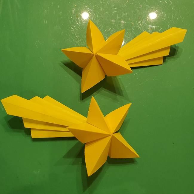 折り紙 流れ星の折り方作り方☆簡単に子供もつくれるかわいい夏の工作