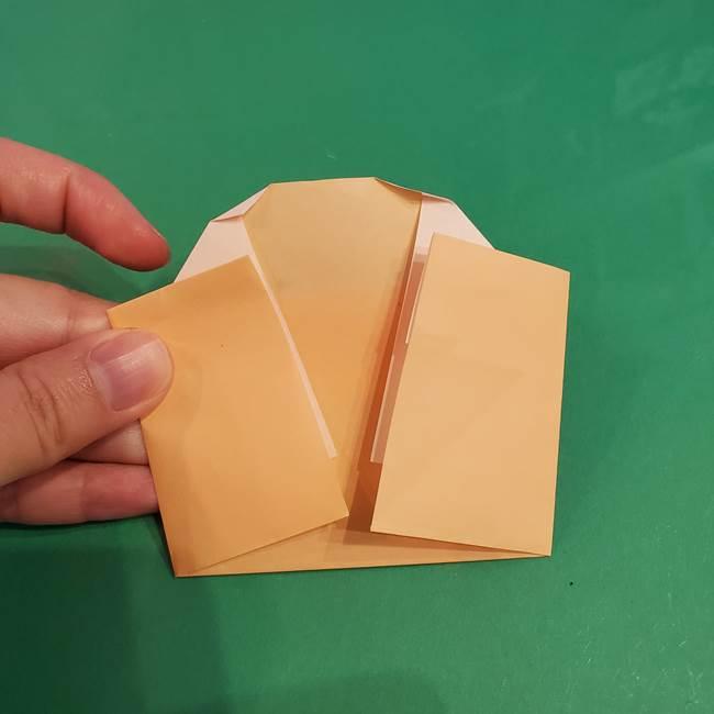 折り紙 餅つき用の杵と臼の折り方作り方②(12)