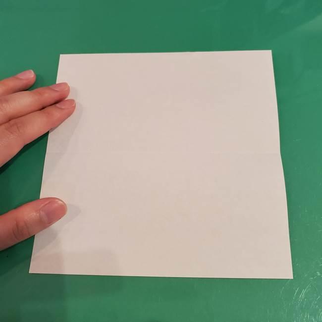 折り紙 餅つき用の杵と臼の折り方作り方②(3)