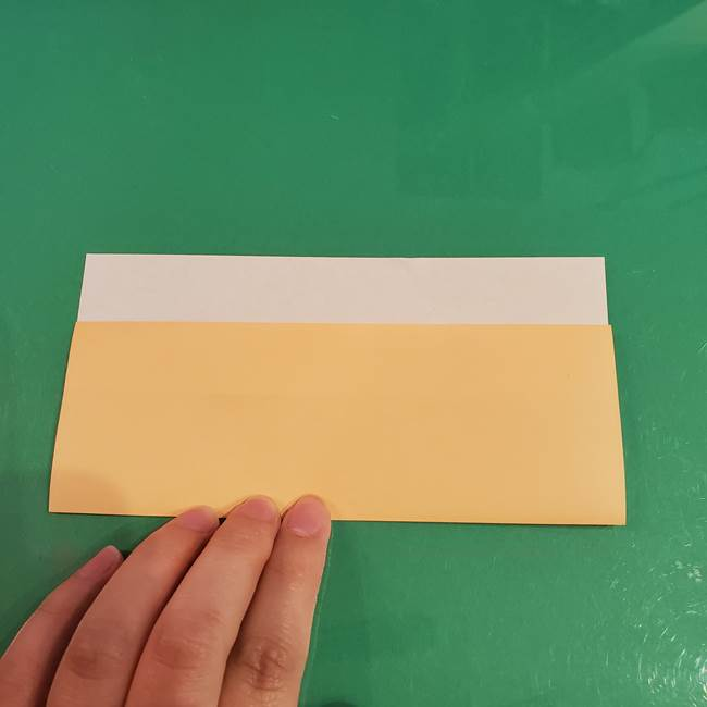 折り紙 餅つき用の杵と臼の折り方作り方②(5)