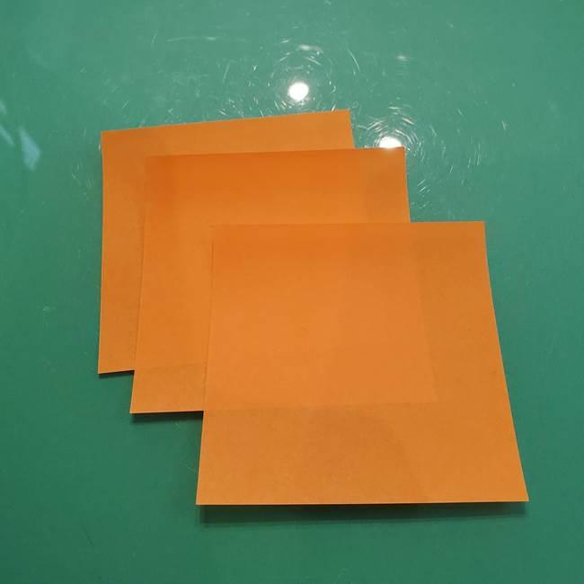 松ぼっくりの折り紙(平面)は簡単♪用意する物1
