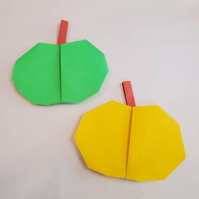 梨の折り紙は簡単な作り方でできる!平面でかわいい秋の果物を子供と手作り★
