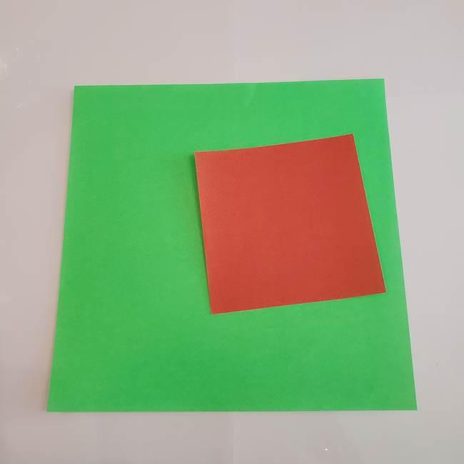 梨の折り紙は簡単!用意するもの(1)