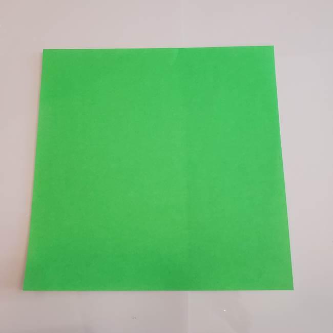 梨の折り紙 簡単な折り方作り方①折り方(1)