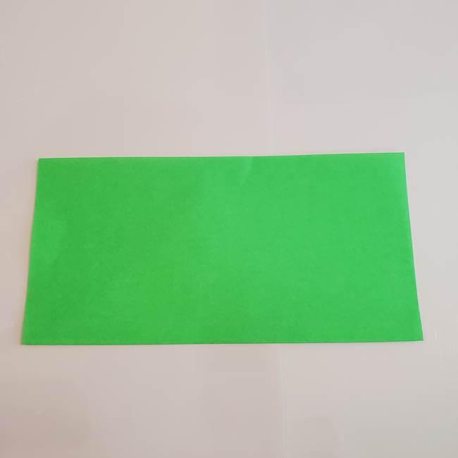 梨の折り紙 簡単な折り方作り方①折り方(2)