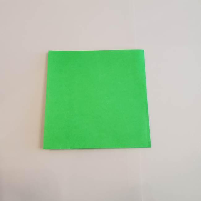 梨の折り紙 簡単な折り方作り方①折り方(3)