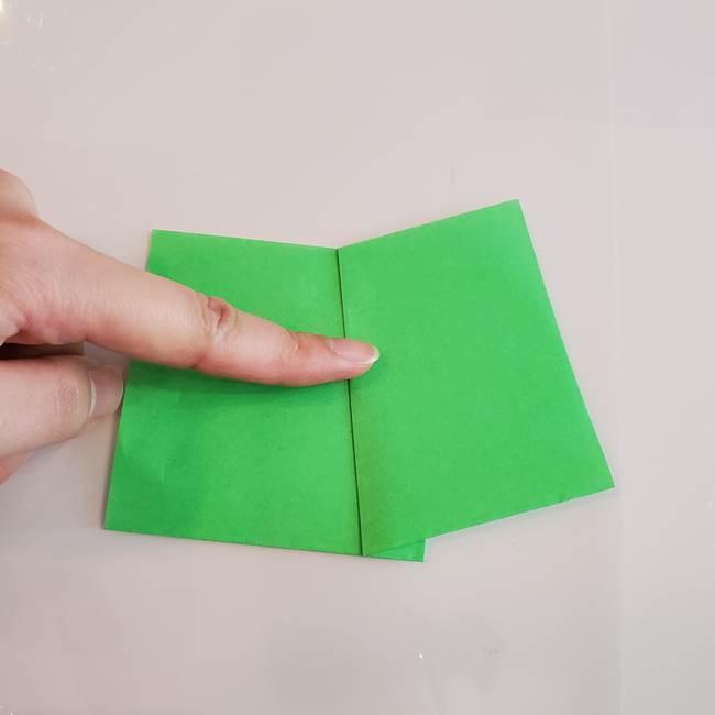 梨の折り紙 簡単な折り方作り方①折り方(4)