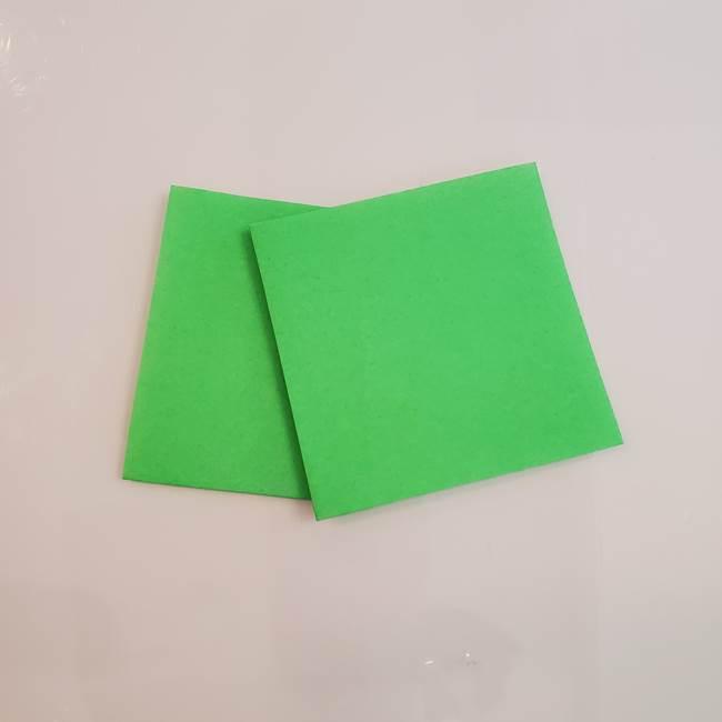 梨の折り紙 簡単な折り方作り方①折り方(5)