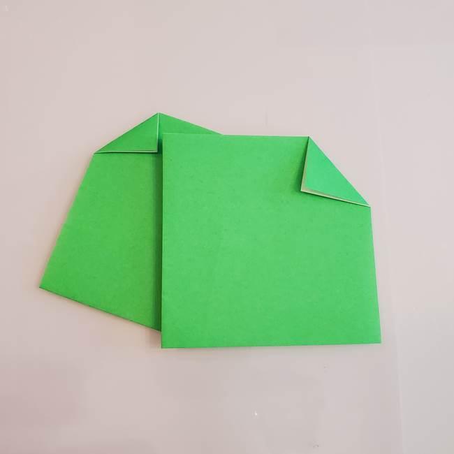 梨の折り紙 簡単な折り方作り方①折り方(6)