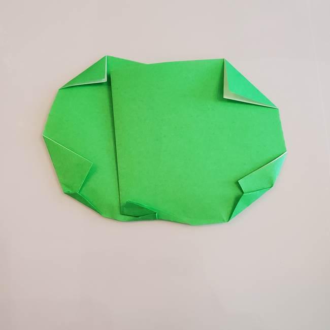 梨の折り紙 簡単な折り方作り方①折り方(8)