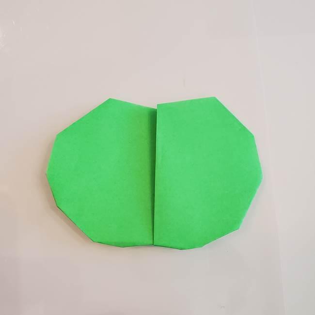 梨の折り紙 簡単な折り方作り方①折り方(9)