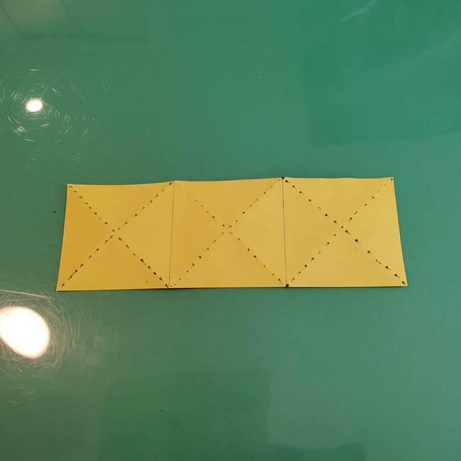 連鶴 稲妻の折り方作り方①折り紙を用意する(11)