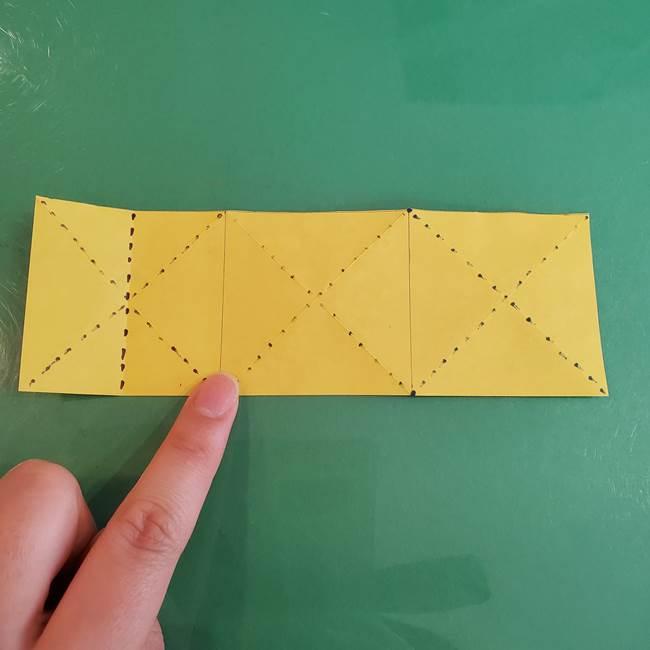 連鶴 稲妻の折り方作り方①折り紙を用意する(13)