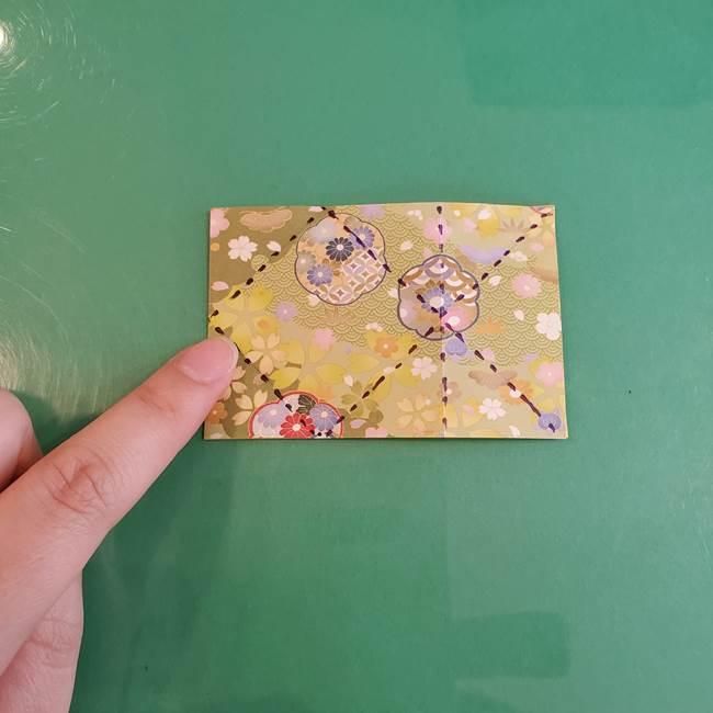 連鶴 稲妻の折り方作り方①折り紙を用意する(14)