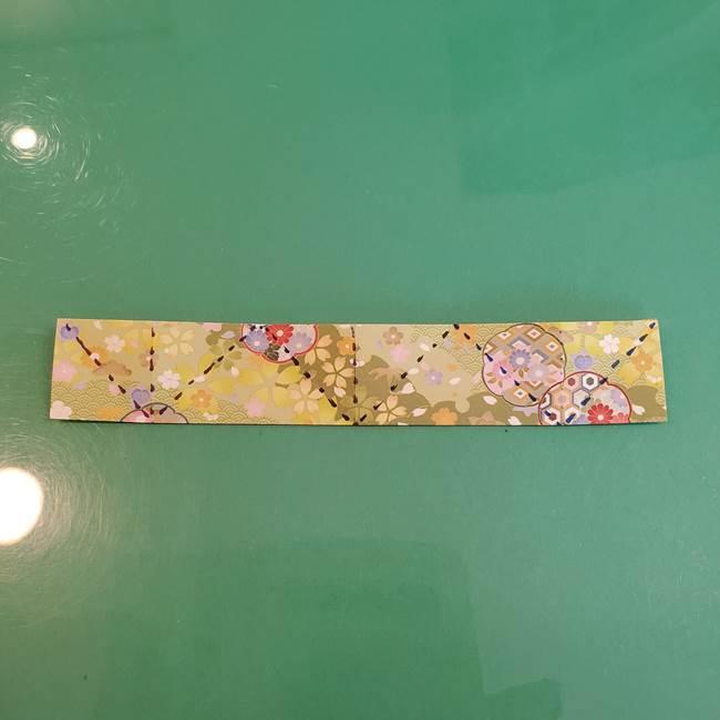 連鶴 稲妻の折り方作り方①折り紙を用意する(17)