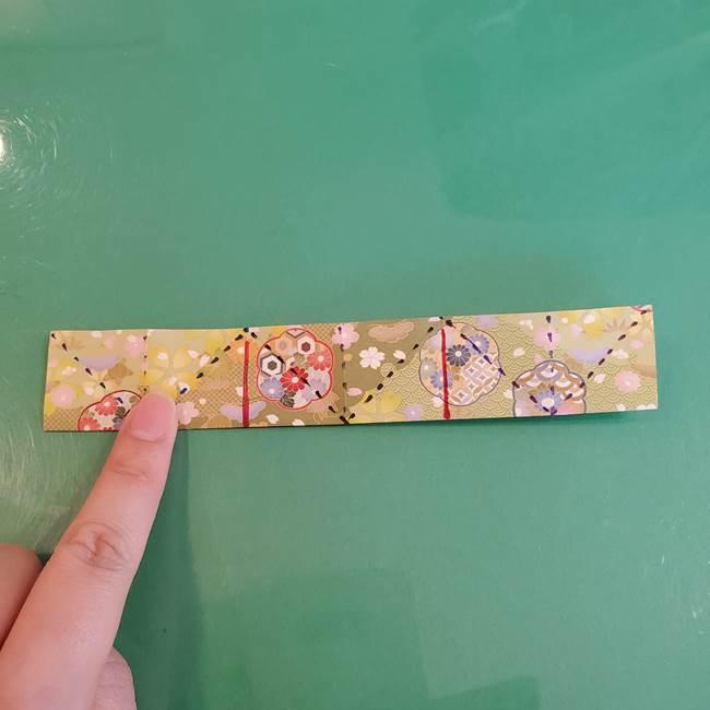 連鶴 稲妻の折り方作り方①折り紙を用意する(18)