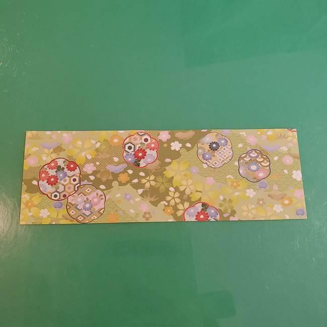 連鶴 稲妻の折り方作り方①折り紙を用意する(2)