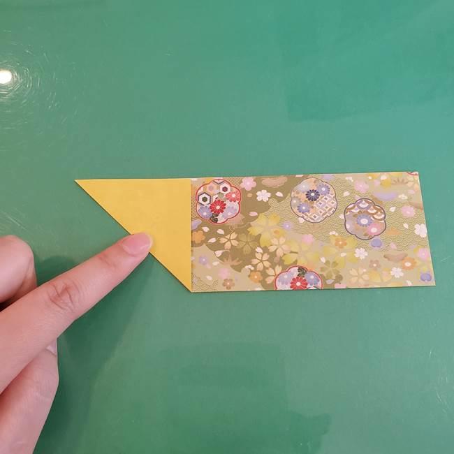 連鶴 稲妻の折り方作り方①折り紙を用意する(3)