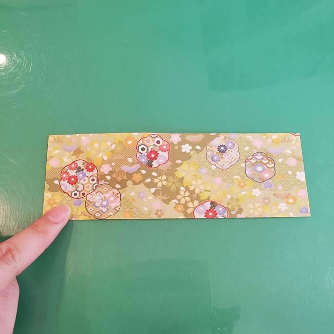 連鶴 稲妻の折り方作り方①折り紙を用意する(4)