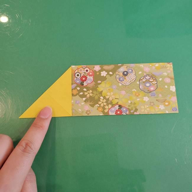 連鶴 稲妻の折り方作り方①折り紙を用意する(5)