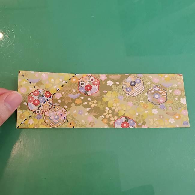 連鶴 稲妻の折り方作り方①折り紙を用意する(6)