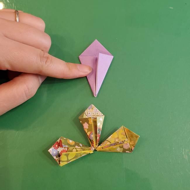 連鶴 稲妻の折り方作り方②折り紙を折っていく(10)