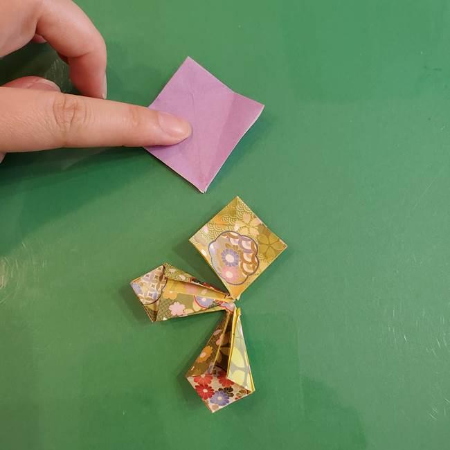 連鶴 稲妻の折り方作り方②折り紙を折っていく(11)