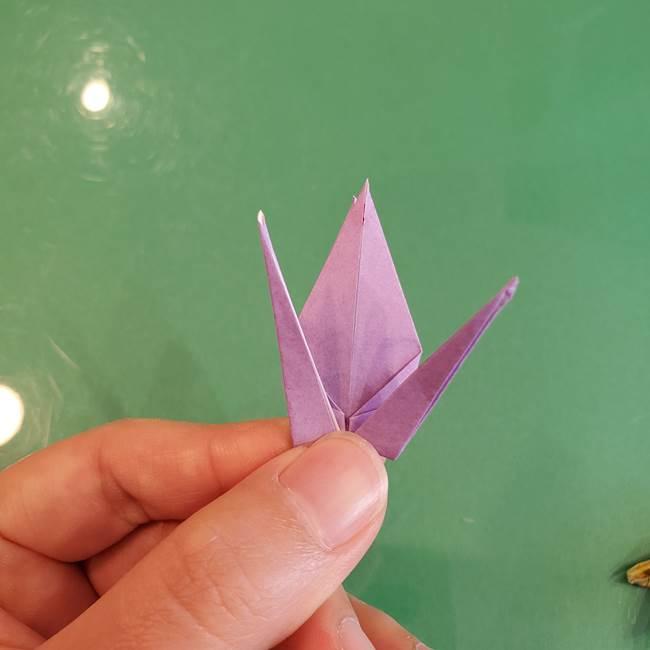 連鶴 稲妻の折り方作り方②折り紙を折っていく(28)