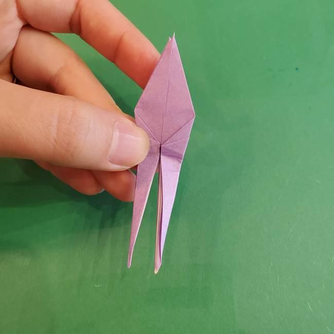連鶴 稲妻の折り方作り方②折り紙を折っていく(29)