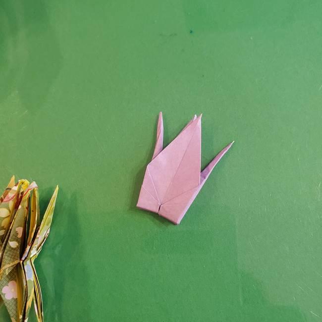 連鶴 稲妻の折り方作り方②折り紙を折っていく(33)