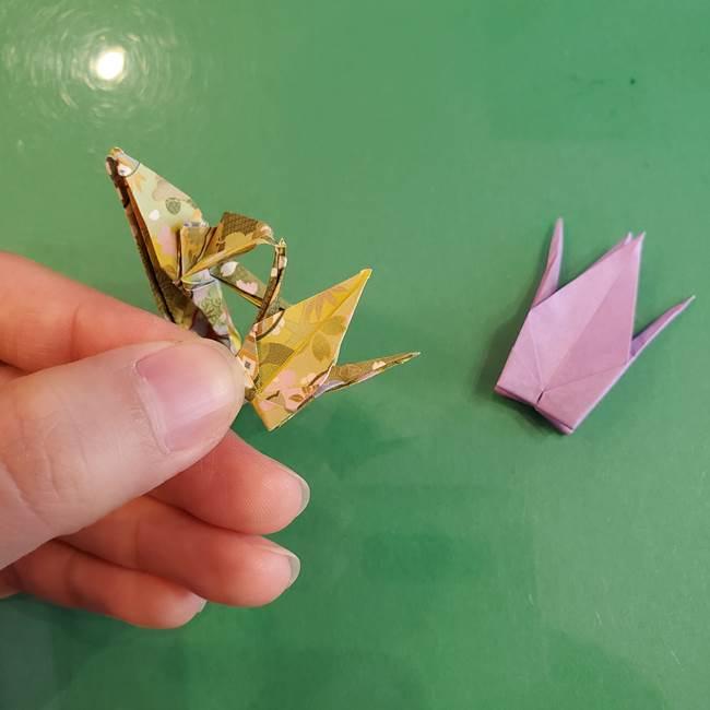 連鶴 稲妻の折り方作り方②折り紙を折っていく(34)