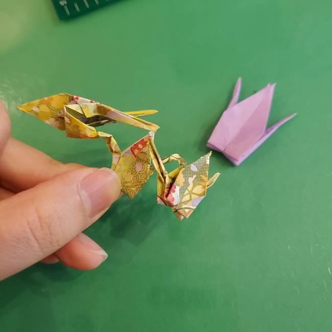 連鶴 稲妻の折り方作り方②折り紙を折っていく(35)