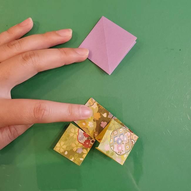 連鶴 稲妻の折り方作り方②折り紙を折っていく(5)
