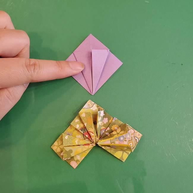 連鶴 稲妻の折り方作り方②折り紙を折っていく(6)
