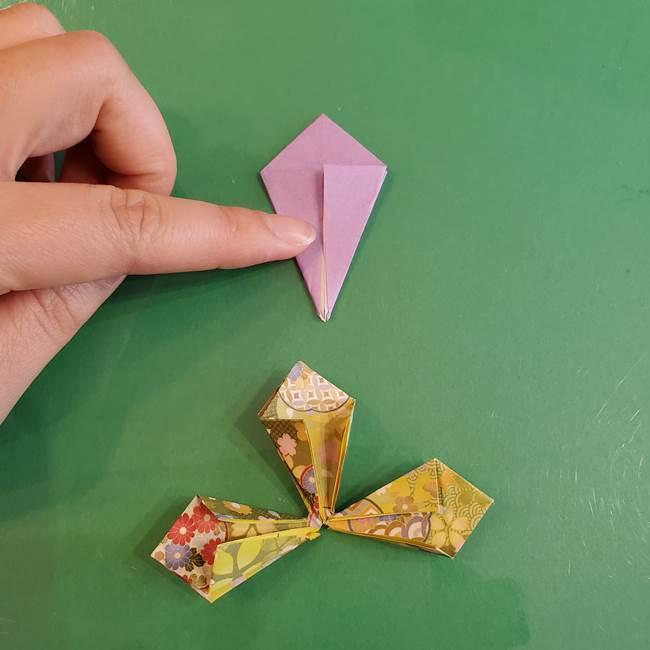 連鶴 稲妻の折り方作り方②折り紙を折っていく(8)