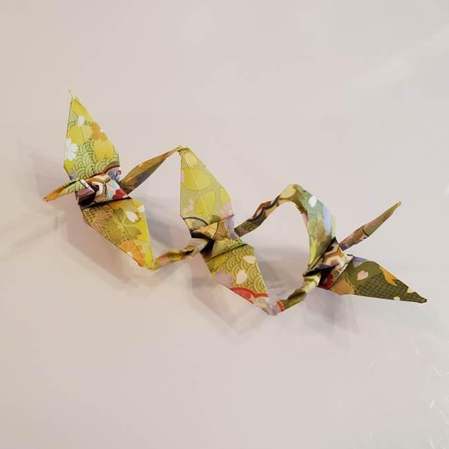 連鶴 稲妻の折り方作り方☆上級者向け折り紙で本格的!難しい折り鶴に挑戦♪
