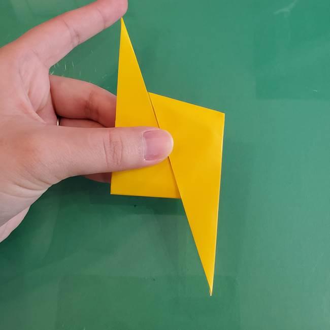 雷の折り紙 折り方作り方(14)