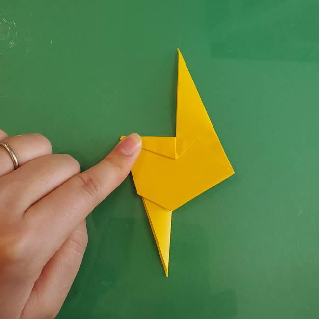 雷の折り紙 折り方作り方(16)