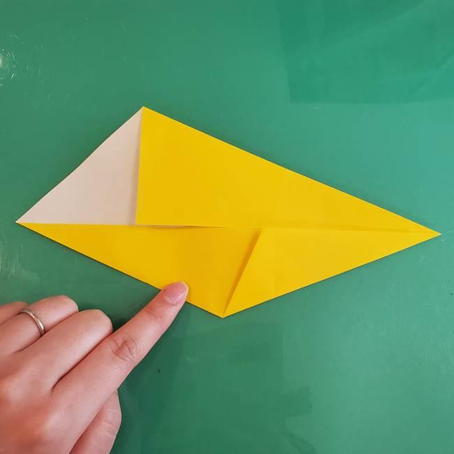 雷の折り紙 折り方作り方(7)