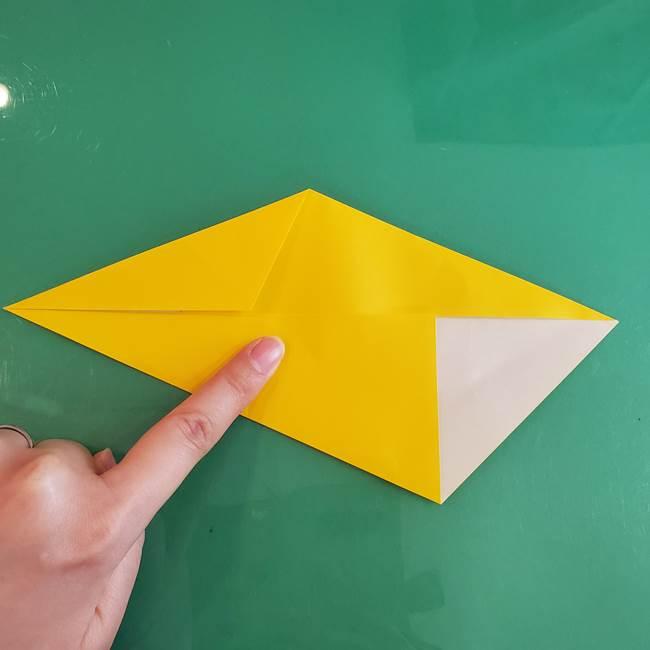 雷の折り紙 折り方作り方(8)