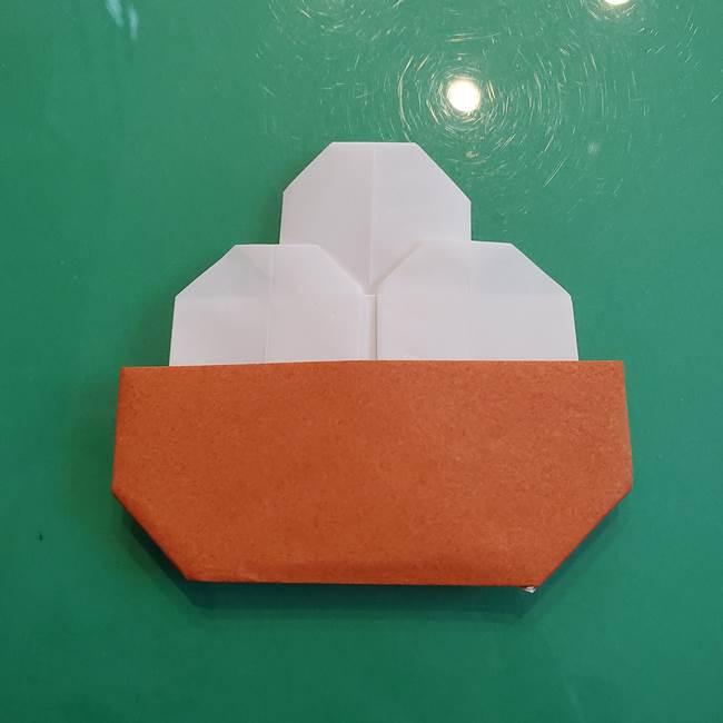 9月の折り紙 十五夜に★簡単お月見製作★月見団子(平面)の折り方作り方