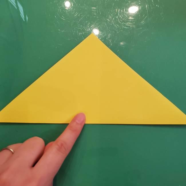 どんぐりの折り紙の折り方作り方(立体)①共通(2)