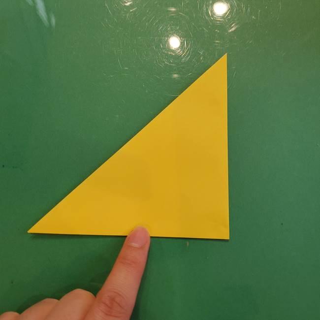 どんぐりの折り紙の折り方作り方(立体)①共通(3)