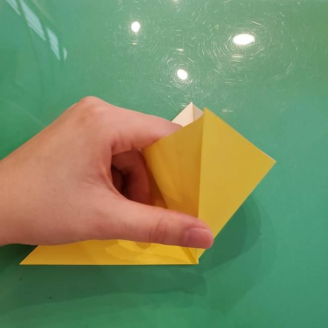どんぐりの折り紙の折り方作り方(立体)①共通(4)