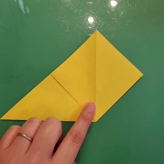 どんぐりの折り紙の折り方作り方(立体)①共通(5)